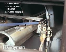 how to light a gas furnace heater how to relight furnace pilot light fooru me