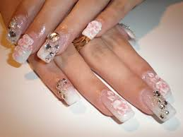 for wedding the best looking wedding nails on your special day the