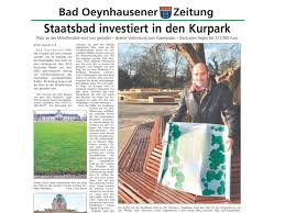 Kurpark Bad Oeynhausen Artikel Landschaftsarchitektur Ehrig