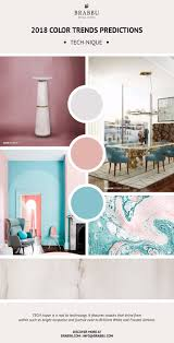 trend alert here are the 2018 color trends predictions tech
