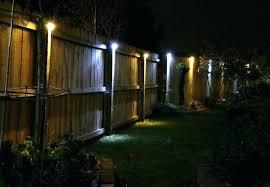 Solar Led Lights For Outdoors Solar Fence Lights Yamacraw Org