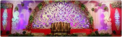 Marriage Decoration Flower Stage Decoration For Marriage Reception Party Delhi