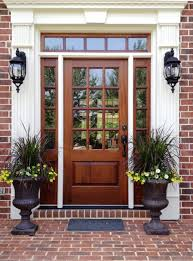 wood glass front doors home design entry door ideas single front doors with glass
