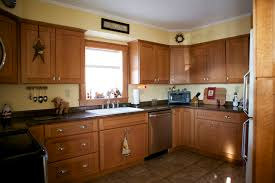 Oak Cabinets In Kitchen by Oak Shaker Cabinet Doors With Oak And Stained With Differing