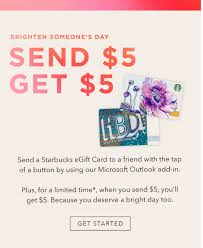 send an egift card starbucks rewards members send starbucks 5 egift card get