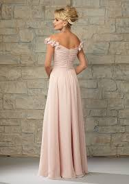 wedding dresses the shoulder sleeves luxe chiffon morilee bridesmaid dress with ruffled the