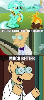 Farnsworth Meme - 141779 crossover farnsworth futurama i don t like humans