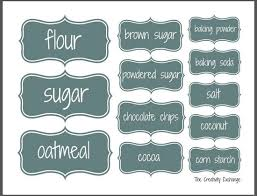 labels for kitchen canisters 82 best kitchen pantry labels images on pantry labels