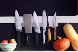 kitchen knives to go 5 ways to hang a magnetic knife rack kitchn