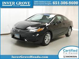 used 2014 honda civic coupe for sale 187 used 2014 civic coupe