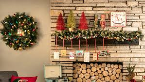 Images Of Mantels Decorated For Christmas Christmas Mantel Ideas