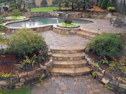 Patio Stone Prices by Hardscape Ideas Also With A Backyard Hardscape Ideas Also With A