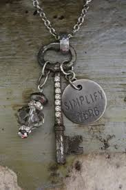vintage key necklace images 111 best vintage key jewelry images old keys jpg