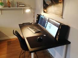 Computer Desk For Two Monitors Desk Outstanding Computer Desk For 2 Monitors Amazing Computer
