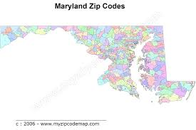 Map Of Maryland Maryland Zip Code Maps Free Maryland Zip Code Maps