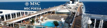 msc poesia cruise ship 2017 and 2018 msc poesia destinations