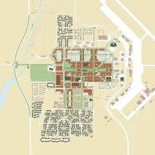 Asu Campus Map Asump Campus Master Plans U2013 Ayers Saint Gross
