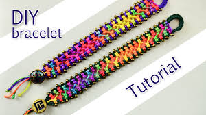 youtube beads bracelet images Easy criss cross bracelet tutorial jpg