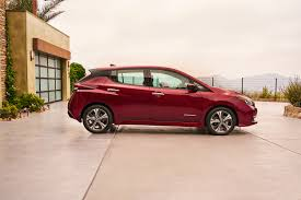 the 2018 nissan leaf will be the first car to join the company u0027s