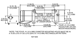 rew 8000 winch wiring diagram rew wiring diagrams collection