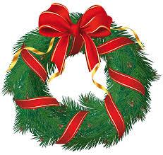 xmas wreath clipart clipartxtras
