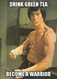 Bruce Lee Meme - bruce lee green tea meme viral memes pinterest tea meme