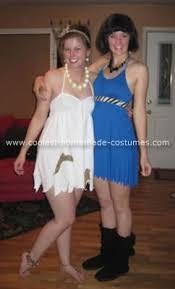 Wilma Halloween Costume Coolest Homemade Wilma Flintstone Betty Rubble Costume Betty