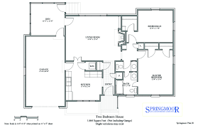 two bedroom house floor plan options for our houses springmoor