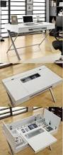 i want this but in white custom computer desk tech pinterest