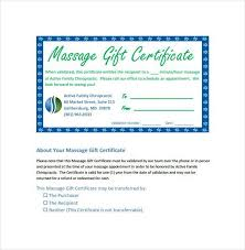 gift certificate format custom gift certificate templates for