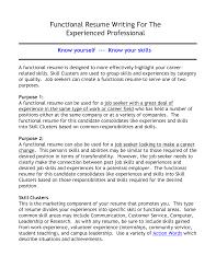 functional resume sles for career change functional resume sle stibera resumes