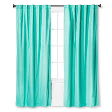 Teal Curtains Twill Light Blocking Curtain Panel Pillowfort Target