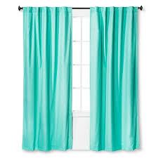 Blue Green Curtains Twill Light Blocking Curtain Panel Pillowfort Target