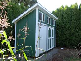 slant roof style storage garden shed tool shed playhouse