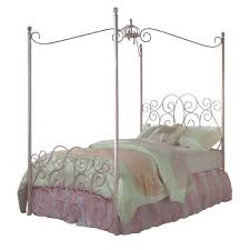 Princess Canopy Bed Standard Furniture Princess Canopy Bed In Pink Metal Beyond Stores