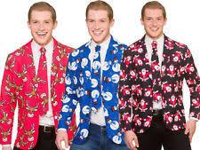 christmas suit men s christmas fancy suits ebay
