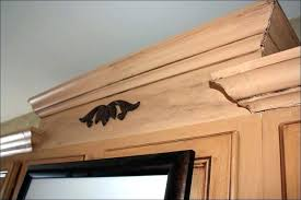 kitchen cabinets molding ideas contemporary crown molding ideas how to install on kitchen cabinets