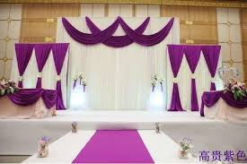 wedding drapery aliexpress buy 3sets of pipe and drape wedding drapery pipe