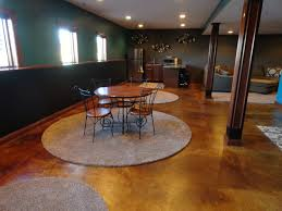 Wood Flooring For Basement by Row House Refuge Basement Flooring Ideas