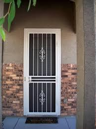 Front Door Security Gate by Security Door Gates Security Door For Protecting And Enhancing