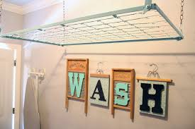 laundry room cozy laundry room clothes rack ideas the daywall