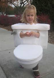 Funny Inappropriate Halloween Costumes Dressed Toilet Worst Halloween Costume Bad Halloween