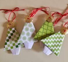 origami tree ornament origami trees paper tree vintage