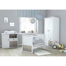 plage chambre bébé complète armoire lit 60x120 cm commode