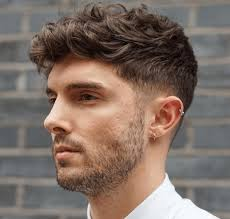textured top faded sides fashionable short hairstyles for men with thick hair