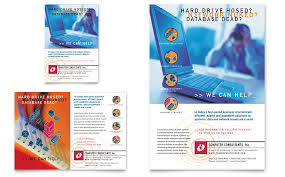 engineering brochure templates free it company flyer search booklets