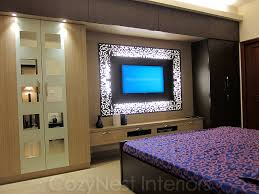 Bedroom With Tv Tv Unit For Bedroom Imposing On Bedroom With Wardrobe Designs 2 11
