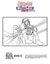 scooby doo wrestlemania mystery dvd coloring pages mom u0027s