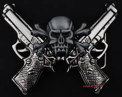skulls with guns cool graphic