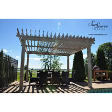 Pergola Gazebo With Adjustable Canopy by Sunlouvre Aluminium Adjustable Roof Pergola 3m X 3 65m Sun Louvre